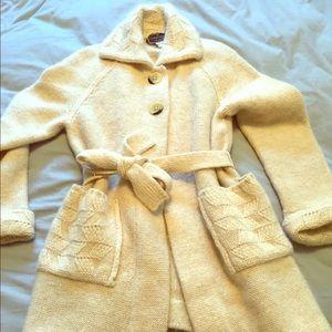 Sweaters - Vintage Shetland wool cardigan
